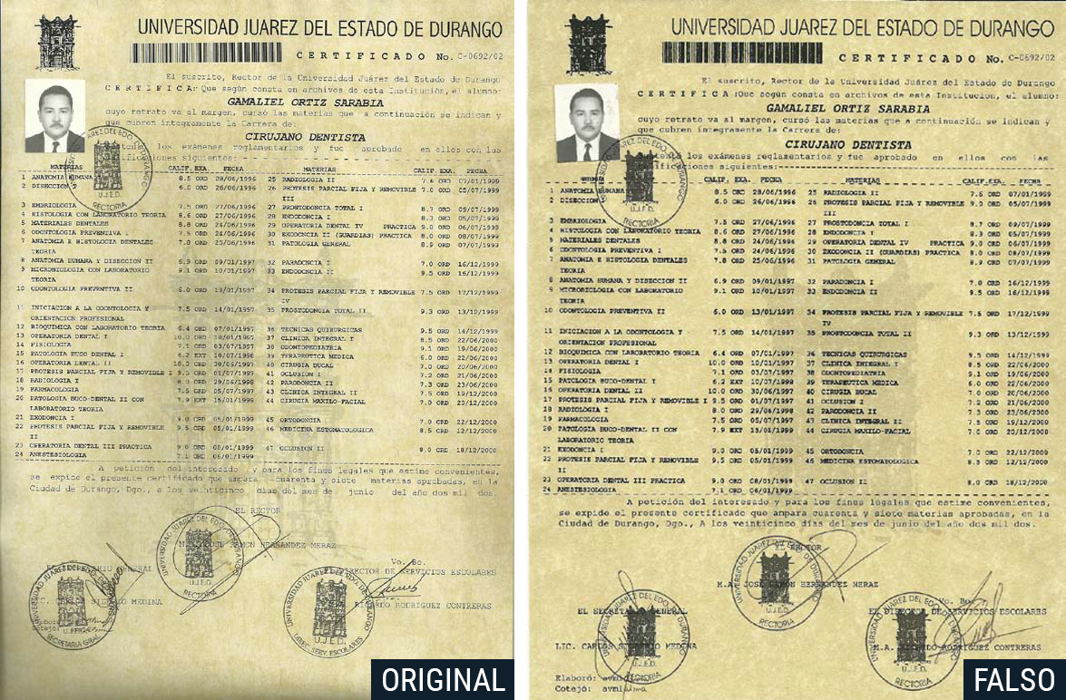la �nueva� ujed directivos falsificadores peri243dico