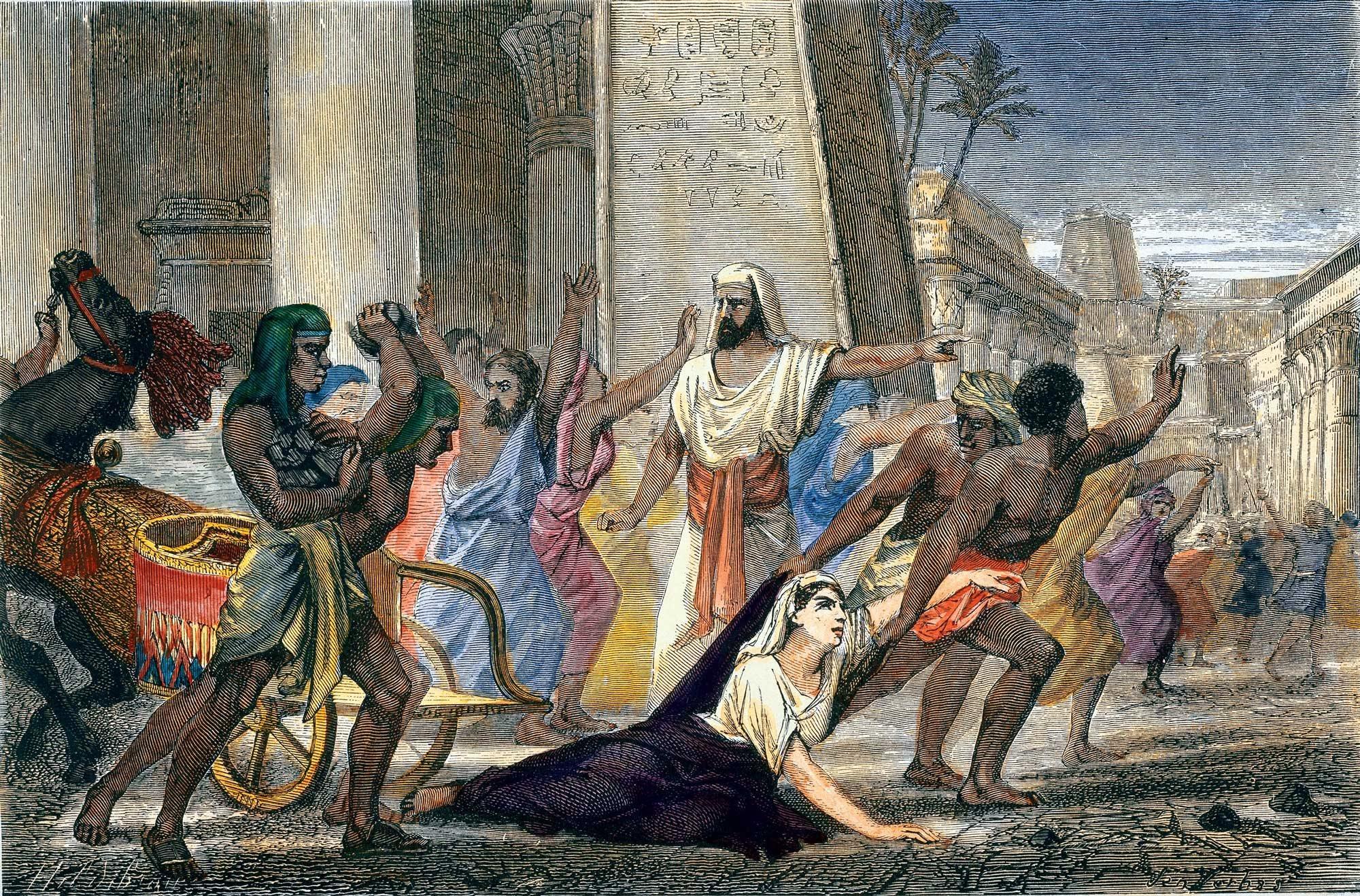 Asesinato de Hipatia, 370 d. C.