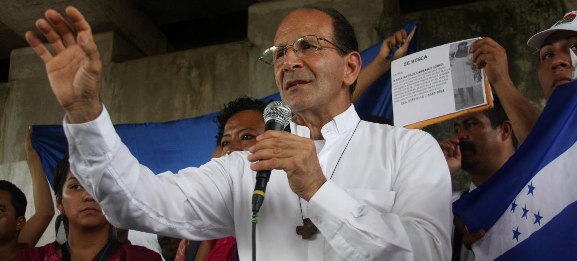 El padre Alejandro Solalinde, fuerte contrapeso a los abusos en contra de los inmigrantes por parte de las autoridades mexicanas.