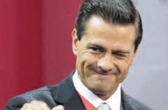 Enrique Peña Nieto, el presidente más corrupto de los últimos tiempos.