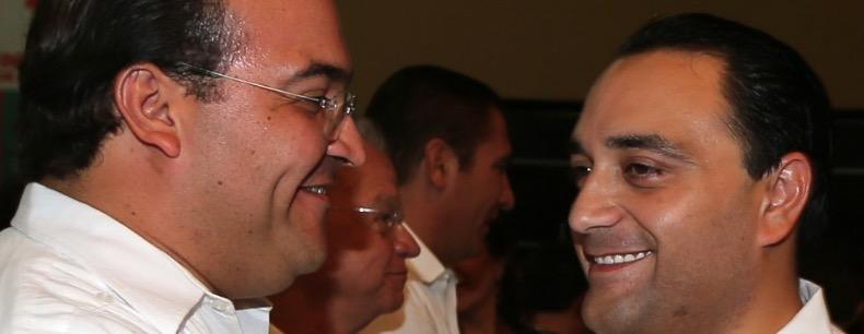 Los gobernadores de Veracruz y Quintana Roo, Javier Duarte y Beto Borge, corruptos a más no poder, igual que otros gobernantes priístas que también están próximos a dejar el poder.