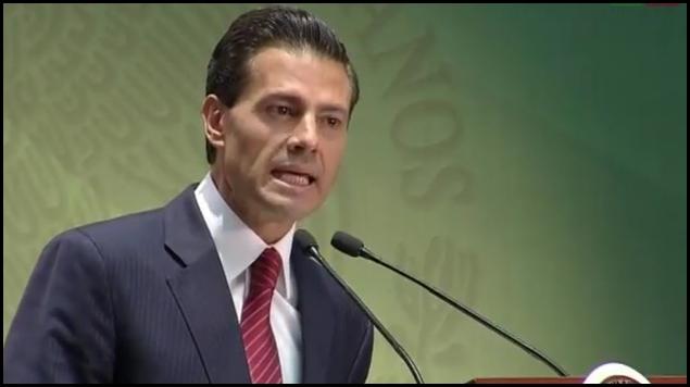 La hipocresía de un presidente. Enrique Peña Nieto, el pasado 18 de julio, pidiendo perdón por sus corruptelas relacionadas con la adquisición de La Casa Blanca.