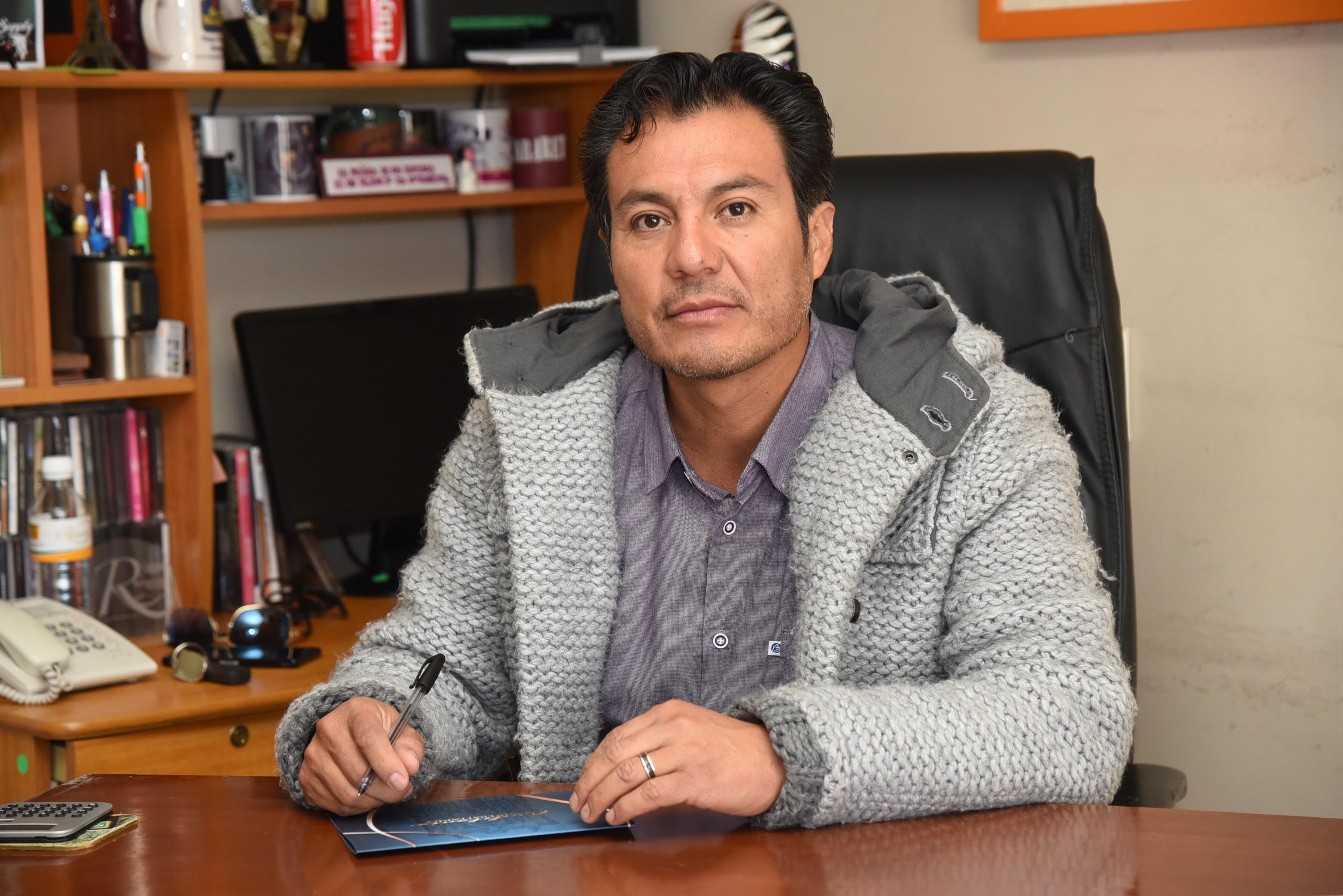 Víctor Hugo Galván Ortega, todavía director de Promoción