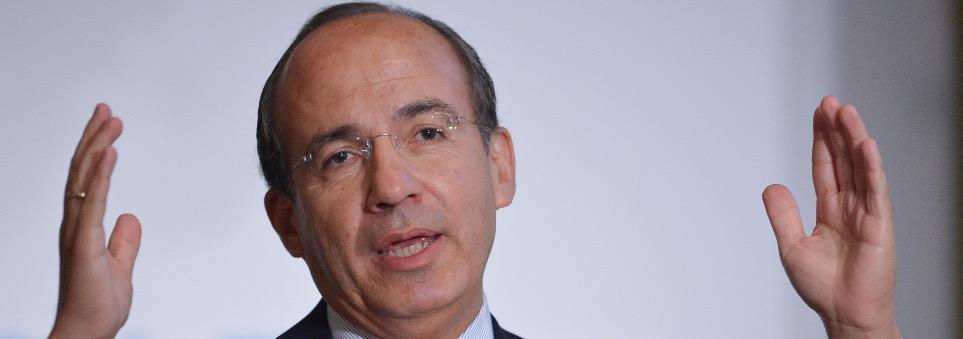 Felipe Calderón Hinojosa, el ex presidente de la República que hoy critica en los demás las mismas corruptelas que cometió cuando fue primer mandatario de la nación.