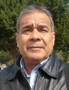 El reconocido periodista Juan Monrreal López, director de la revista digital Demócrata Norte de México.