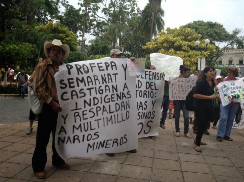 Son las altas autoridades las que protegen el saqueo minero en nuestro país.