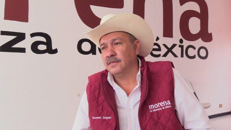 Rosendo Salgado Vázquez, parece ser que cayó de la gracia del santón izquierdista Andrés Manuel López Obrador luego de la cadena de fracasos y corruptelas que perpetró en Durango.