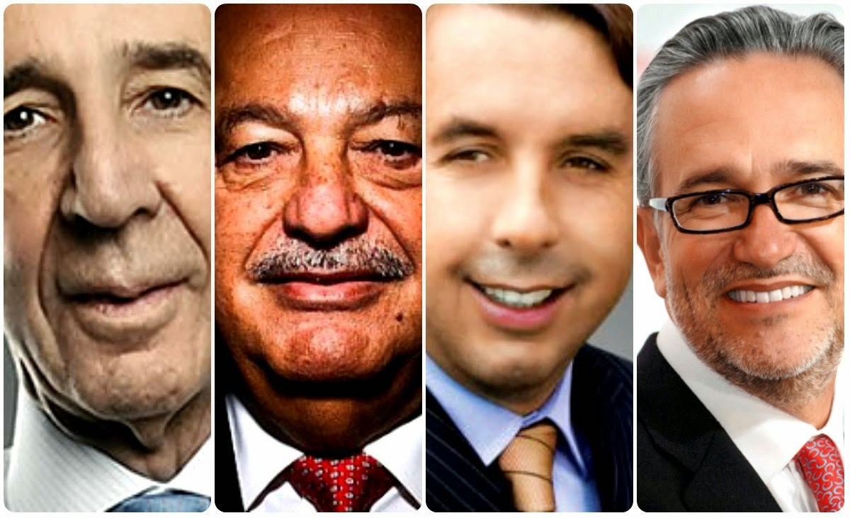 Los empresarios, sin colores partidistas; su único color es el del dinero público para hacer grandes negocios particulares.
