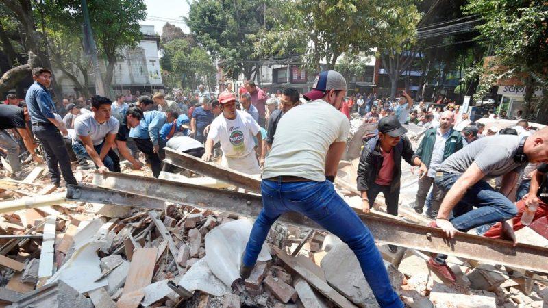 El terremoto del pasado 19 de septiembre podría ser el comienzo del fin de la partidocracia mexicana.