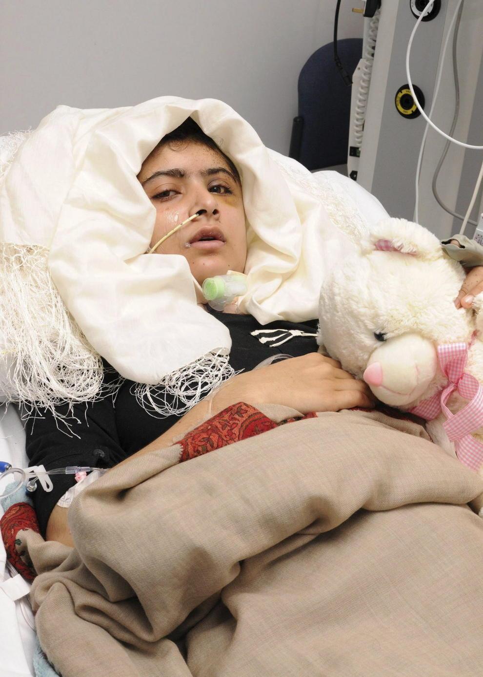 Luego del atentado de los talibanes.
