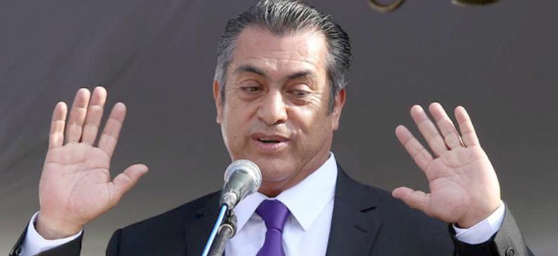 """Jaime Rodríguez, """"El Bronco"""", ahora candidato independiente a la presidencia, resultó una verdadera decepción como gobernador de Nuevo León por su incongruencia política, actos de corrupción de sus colaboradores cercanos y su comportamiento vulgar."""